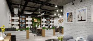 Văn phòng mở tràn đầy năng lượng với các sản phẩm nội thất của Govi