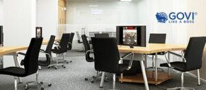Tối giản không gian khi sử dụng nội thất văn phòng thông minh