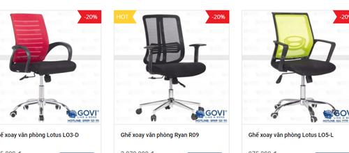 Lựa chọn ghế xoay lưới văn phòng