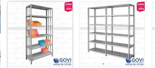 Tại sao bạn nên lựa chọn giá sắt thư viện của Govi