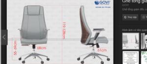 Tại sao ghế giám đốc Leon được bình chọn là chiếc ghế giám đốc đẹp nhất