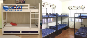 Giường tầng sắt – Sự lựa chọn thông minh cho những không gian tập thể