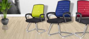 Ghế chân quỳ lưng lưới sản phẩm mới, hiện đại