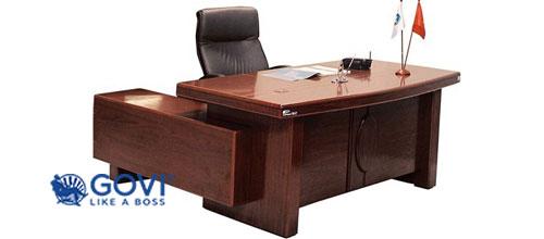 Thiết kế bàn giám đốc cao cấp và chất lượng do GOVI nhập khẩu chính hãng