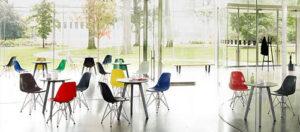 Sang trọng và đầy màu sắc với các sản phẩm bàn ghế cafe