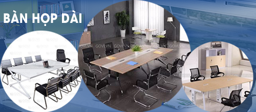 Khám phá những mẫu bàn họp mới nhất tại Govi