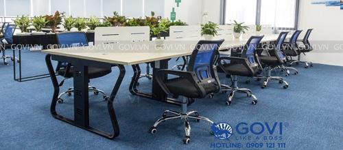 Vách ngăn bàn làm việc tại Govi: Chất lượng làm nên uy tín thương hiệu