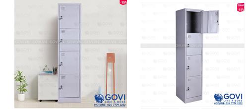 Tủ locker nhiều ngăn – giải pháp tiết kiệm diện tích tối ưu