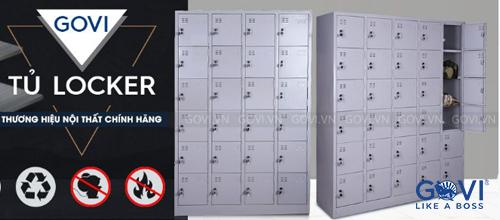 Bảo quản đồ đạc an toàn với tủ sắt locker 24 ngăn