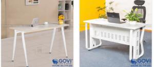 Những mẫu bàn làm việc đẹp không thể bỏ qua cho khách hàng yêu thích sự mới lạ và độc đáo