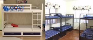 Những ưu điểm vượt trội khiến giường tầng sắt không thể vắng mặt trong các công trường, ký túc
