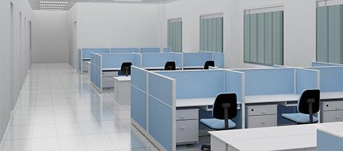 Thiết kế văn phòng làm việc chuyên nghiệp với Module bàn làm việc Atlas