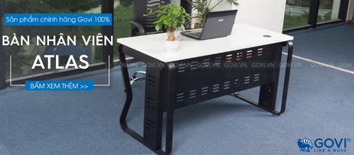 Những lý do bạn nên trang bị trọn bộ dòng sản phẩm bàn làm việc Atlas cho văn phòng