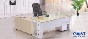 7 mẫu sản phẩm bàn giám đốc chân sắt độc quyền chỉ có tại GOVI