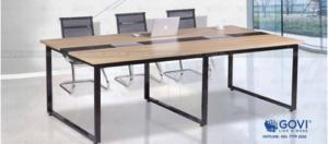 Lý do bạn nên chọn lựa bàn họp Iris của GOVI khi trang bị nội thất cho phòng họp