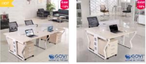 Module bàn làm việc – xu hướng thiết kế của những không gian hiện đại
