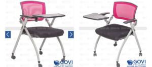 Sự tiện tích không thể bỏ qua trong những thiết kế ghế training