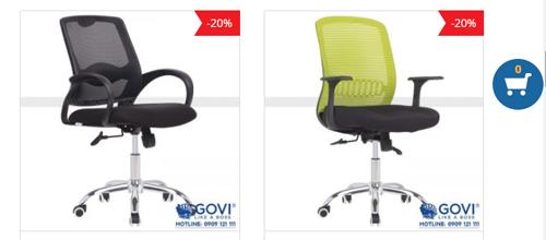 Những lưu ý khi lựa chọn ghế văn phòng đảm bảo sức khỏe khi sử dụng