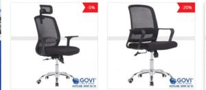 Những mẫu ghế xoay Ryan tiện ích, giá rẻ tại Govi