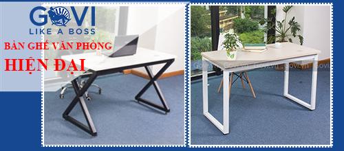 Mẫu bàn văn phòng đang được ưa thích nhất tại Govi