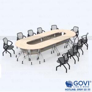 Bàn họp văn phòng cao cấp Louis LSA12-Y-T-084