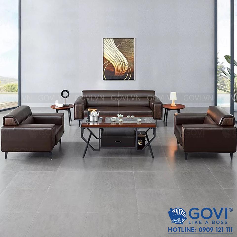Sofa da cao cấp Sofa09-16-N