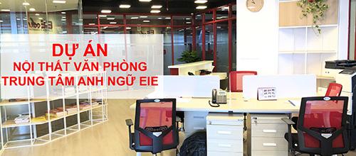 Cùng GOVI hoàn thiện không gian nội thất văn phòng Trung tâm Anh ngữ EIE