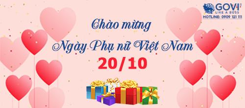 GOVI tri ân phái đẹp nhân Ngày Phụ nữ Việt Nam 20/10