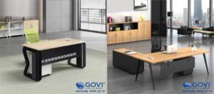 Điểm danh những mẫu bàn giám đốc đẹp của nội thất Govi