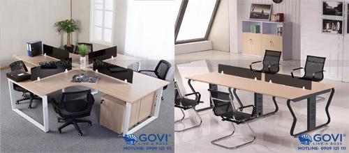 Lựa chọn module bàn làm việc nào phù hợp với văn phòng vừa và nhỏ