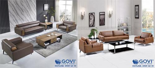 Sofa da thật: tuyệt tác nội thất, nâng tầm không gian