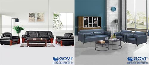 Sofa da nhập khẩu – kiến tạo vẻ đẹp sang trọng chuẩn mực cho văn phòng lãnh đạo