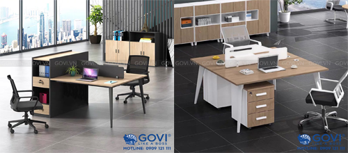Phân biệt các mẫu chân bàn văn phòng của Govi
