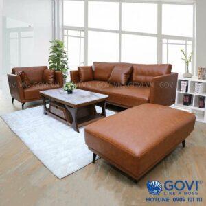 Sofa da cao cấp SF20