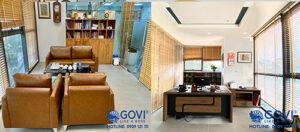 Dự án lắp đặt nội thất văn phòng tại công ty Nacencomm bởi Govi Furniture