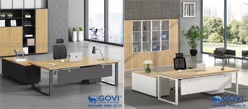 Mua bàn giám đốc thiết kế đẹp, chất liệu cao cấp ở đâu HCM