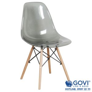 Ghế cafe Trong suốt Eames J1