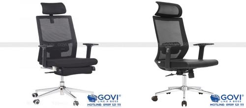 Làm việc hiệu quả không thể thiếu những mẫu ghế xoay văn phòng này
