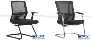 Phòng họp trở nên chuyên nghiệp và nghiêm túc hơn với những mẫu ghế chân quỳ da simili Apollo