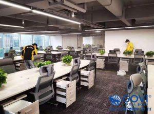 Govi cung cấp lắp đặt nội thất văn phòng cho các dự án lớn, nhỏ trên toàn quốc