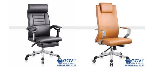 Kiến tạo vẻ đẹp chuẩn mực cho văn phòng làm việc chuyên nghiệp với ghế lãnh đạo da cao cấp