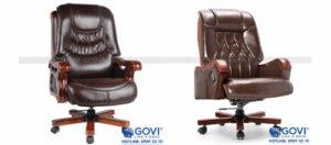Trải nghiệm cảm giác thư giãn tuyệt vời với ghế da lãnh đạo
