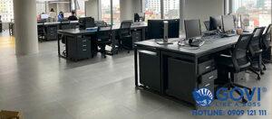 Dự án lắp đặt nội thất văn phòng cao cấp 1000m2 tại công ty Telio Việt Nam được thực hiện bởi Govi Furniture