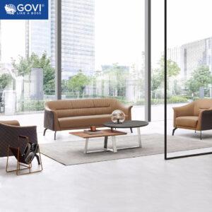 Sofa da cao cấp SF192