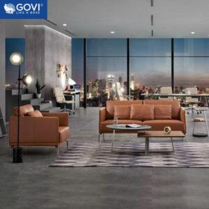 Sofa da cao cấp SF190