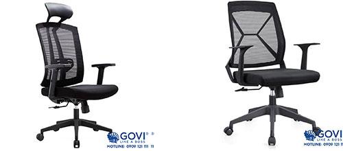 Tràn đầy năng lượng và hứng khởi làm việc với combo ghế văn phòng Govi