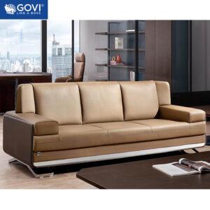 Sofa văng da cao cấp SF175