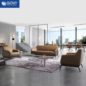 Sofa da cao cấp SF186