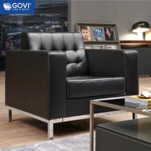 Sofa đơn da cao cấp SF810