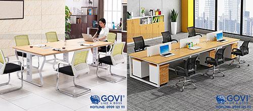 Module bàn làm việc thông minh: bước đột phá của nội thất văn phòng hiện đại